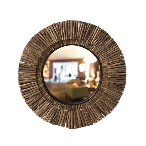 Double Line Mirror Small