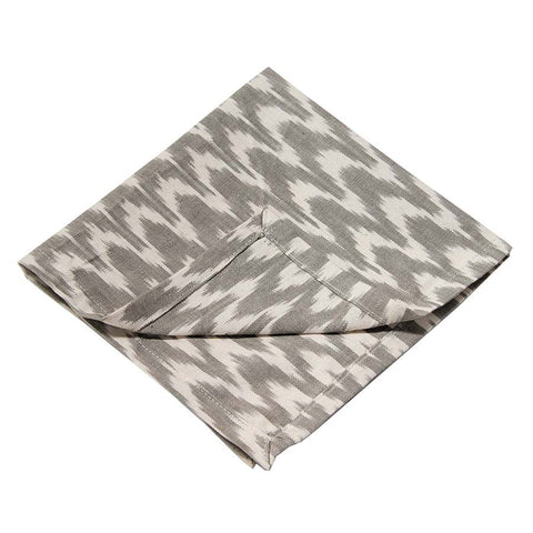 grey-ikat-chevron-napkin