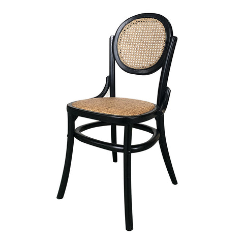 Delphine Dining Chair Black