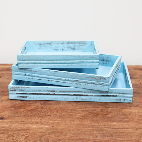 turquoise display tray 3 sizes