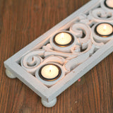 white-5-tealight-holder
