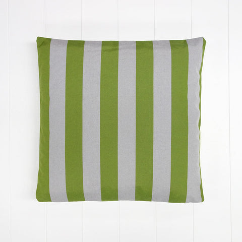 Green Stripe Outdoor Cushion