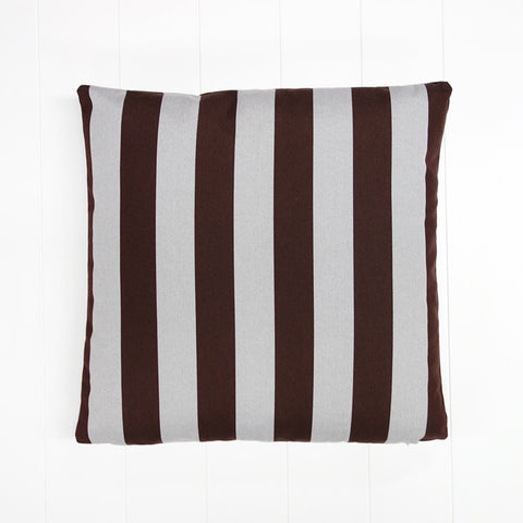 Black Stripe Outdoor Cushion
