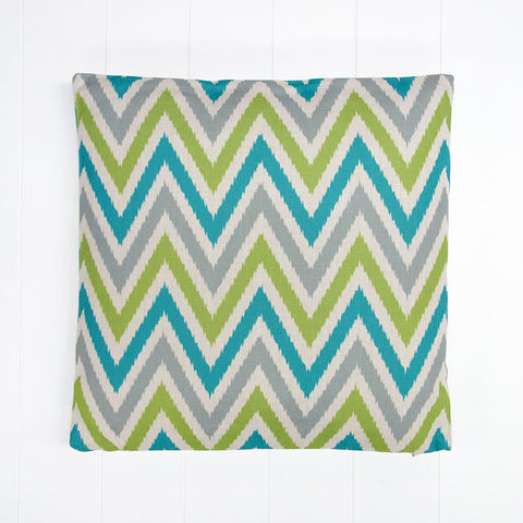 Multi Zigzag Outdoor Cushion