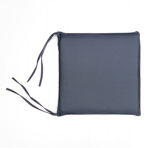 Charcoal Outdoor Seat Cushion