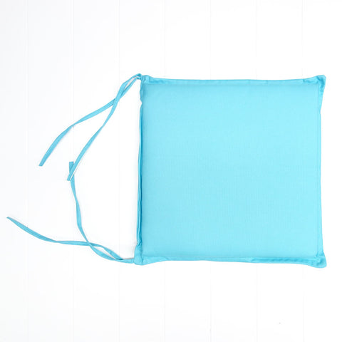 Turquoise Outdoor Seat Cushion