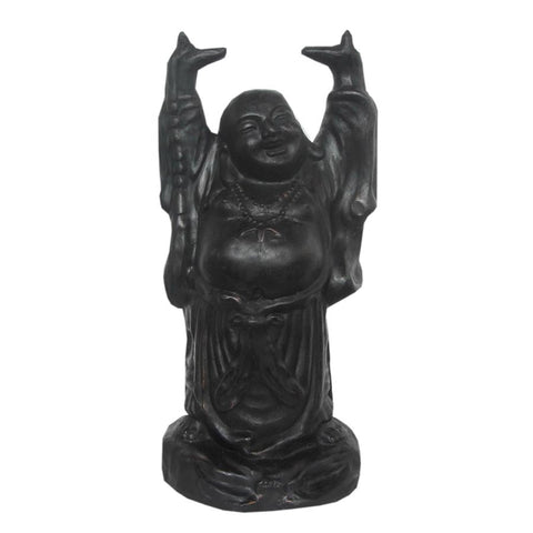Happy Buddha 60cm Black