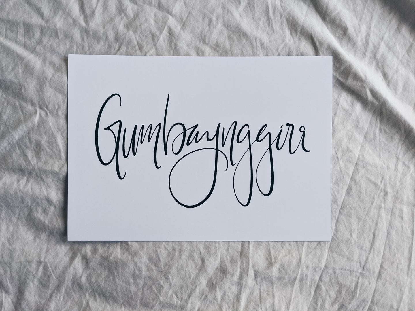 Gumbaynggirr Country A4 Print