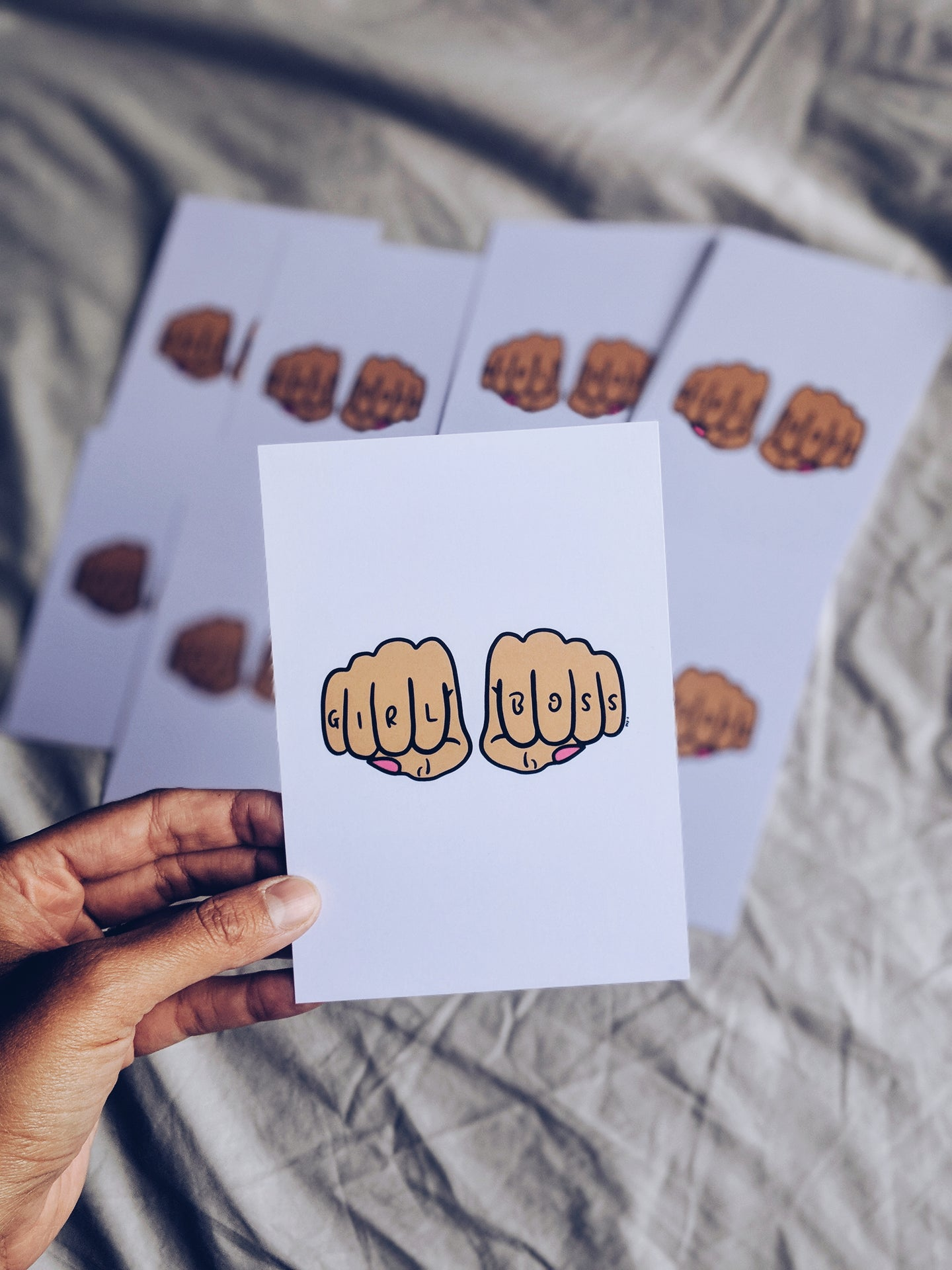 Girl Boss A6 Print / Notecard