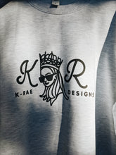 Load image into Gallery viewer, K-Rae Grey Merch Sweater