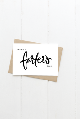 Happy Farter's Day Greeting Card