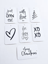 Load image into Gallery viewer, Christmas Swing Tag Pack