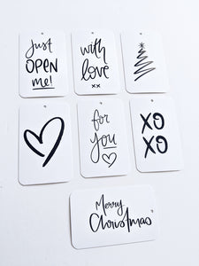Christmas Swing Tag Pack