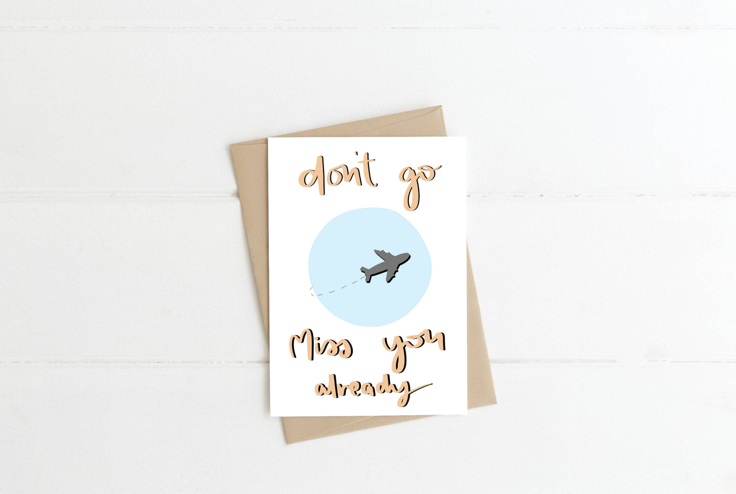 Farewell Greeting Card
