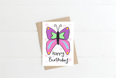 Butterfly Children's Greeting Card
