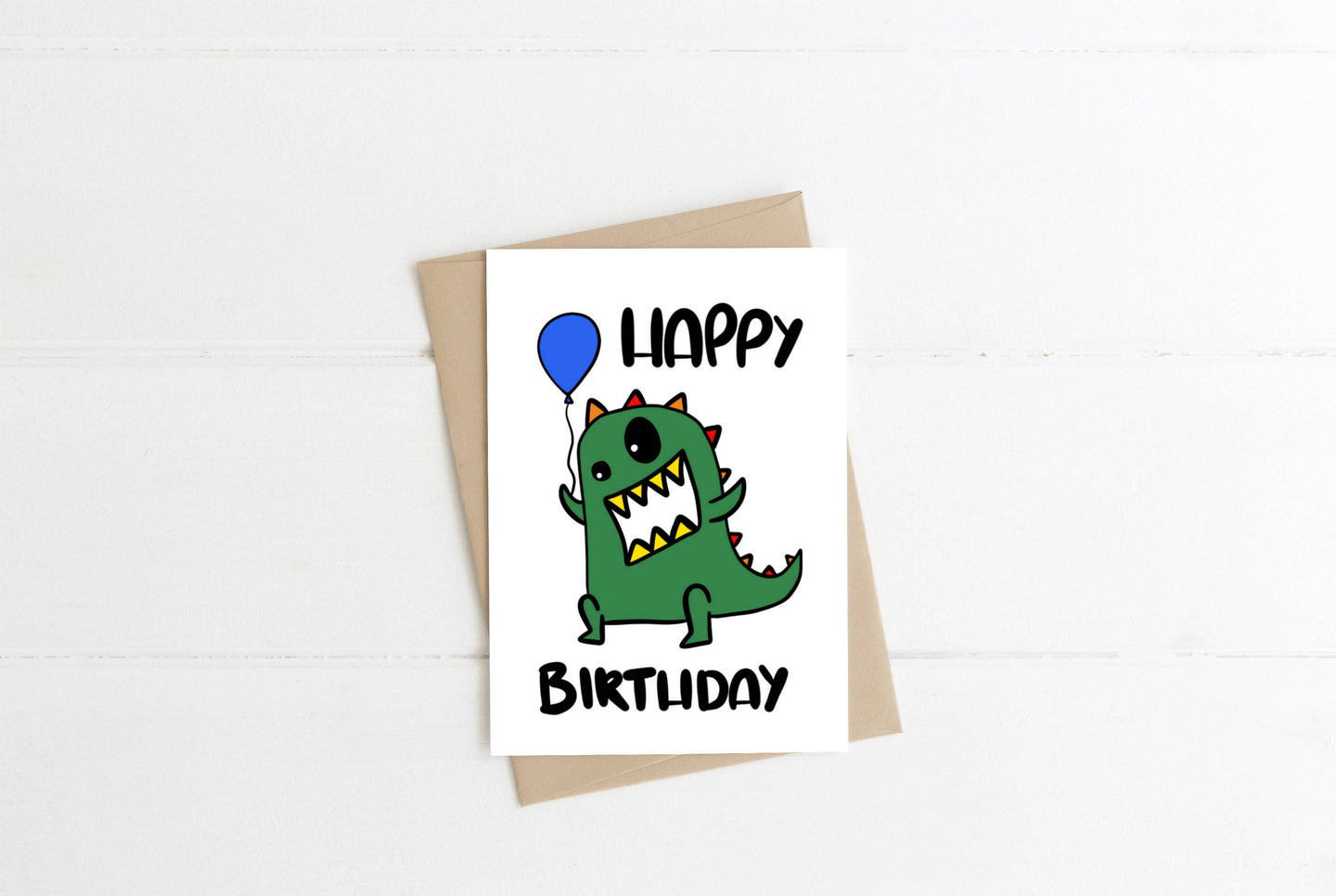 Dinosaur Children's Greeting Card