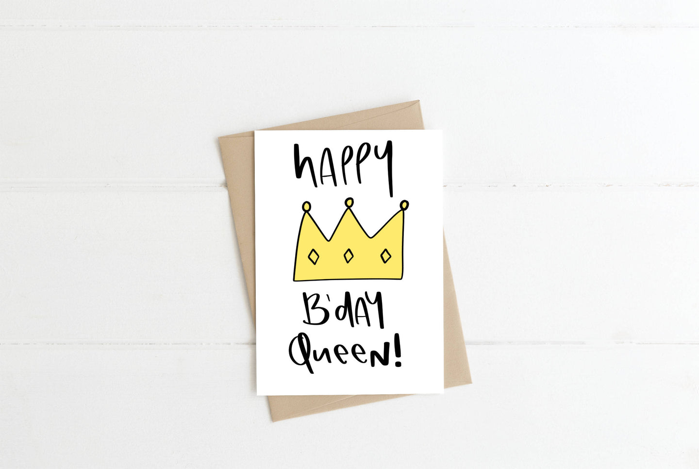 Happy Birthday Queen Greeting Card