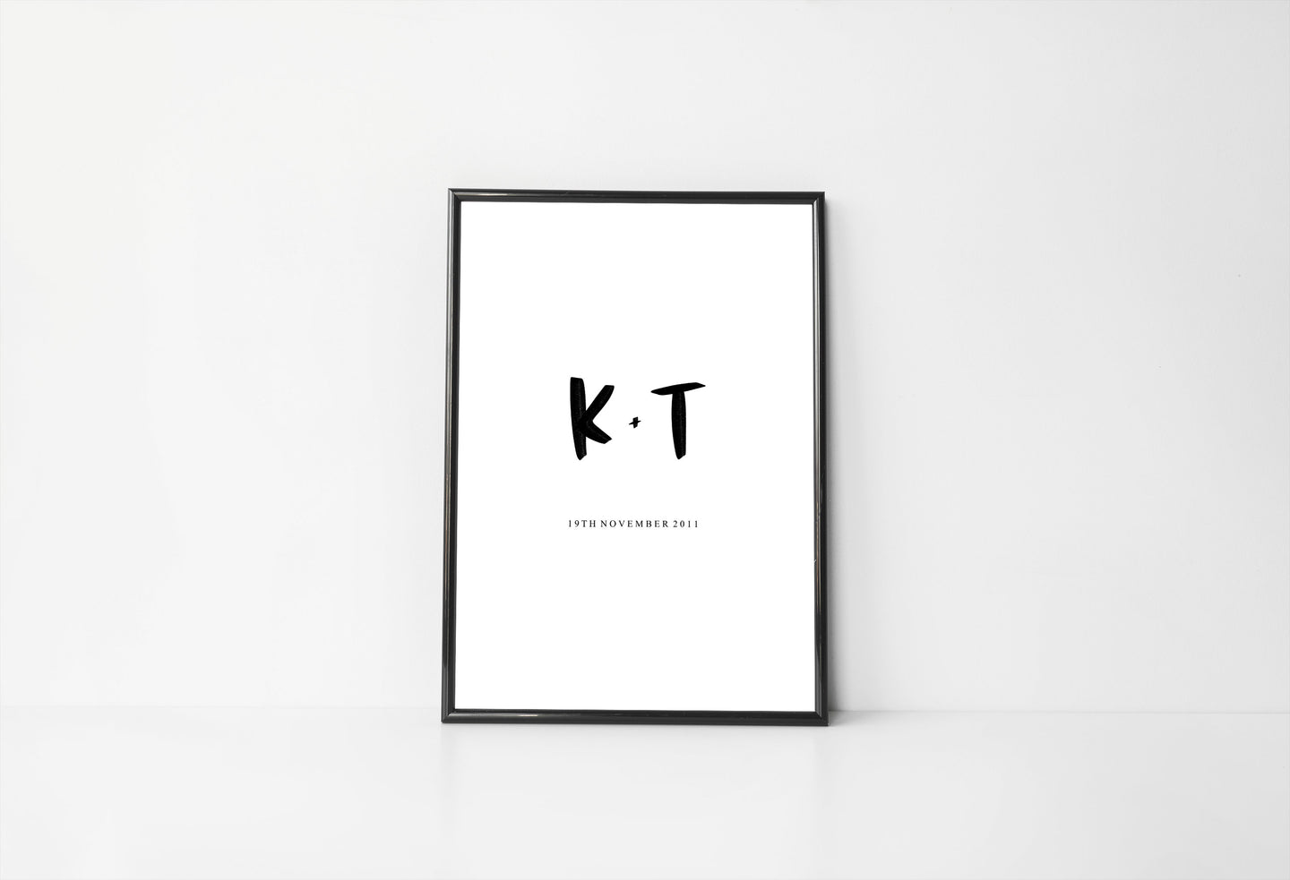 Personalised Initial Digital Print
