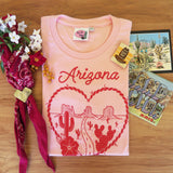 Road Trip to Arizona Ladies T shirt