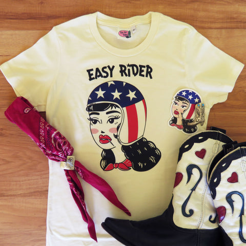Easy Rider Ladies T shirt