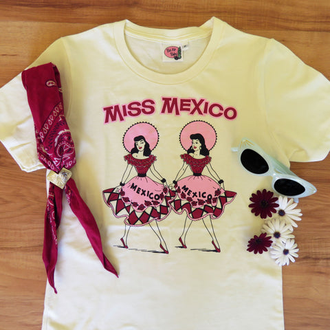 Miss Mexico Ladies T shirt