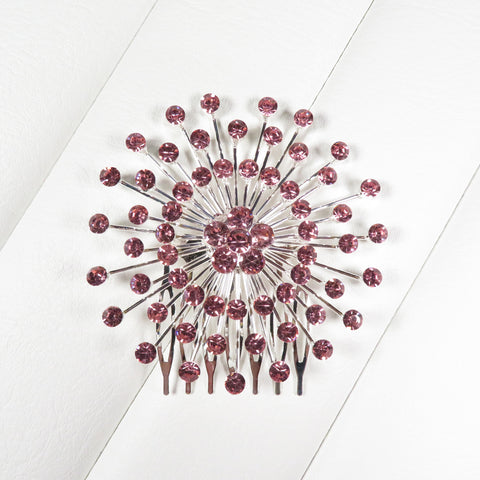 Atomic Starburst Crystal Hair Comb