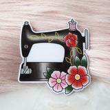 Vintage Sewing Machine Brooch