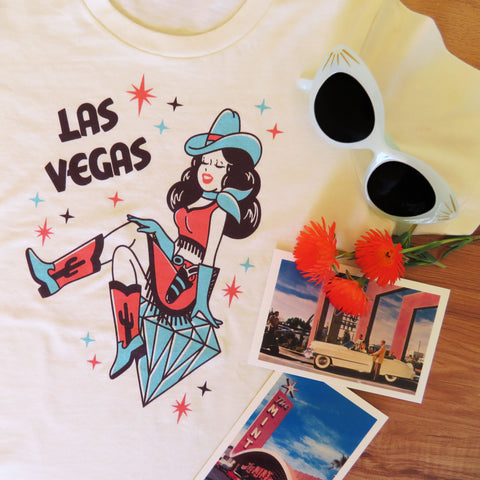 Las Vegas Ladies T shirt