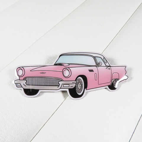 1957 Ford Thunderbird Brooch | Bel Air Baby