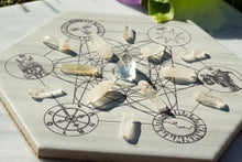 Load image into Gallery viewer, Tarot Crystal Grid