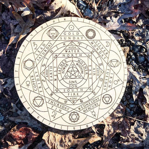 Alchemical Crystal Grid