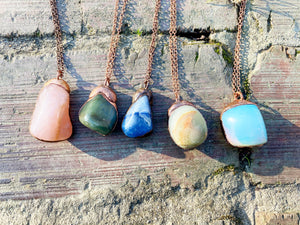 The ABRACADABRA Moondrop Necklace: Choose your Stone!
