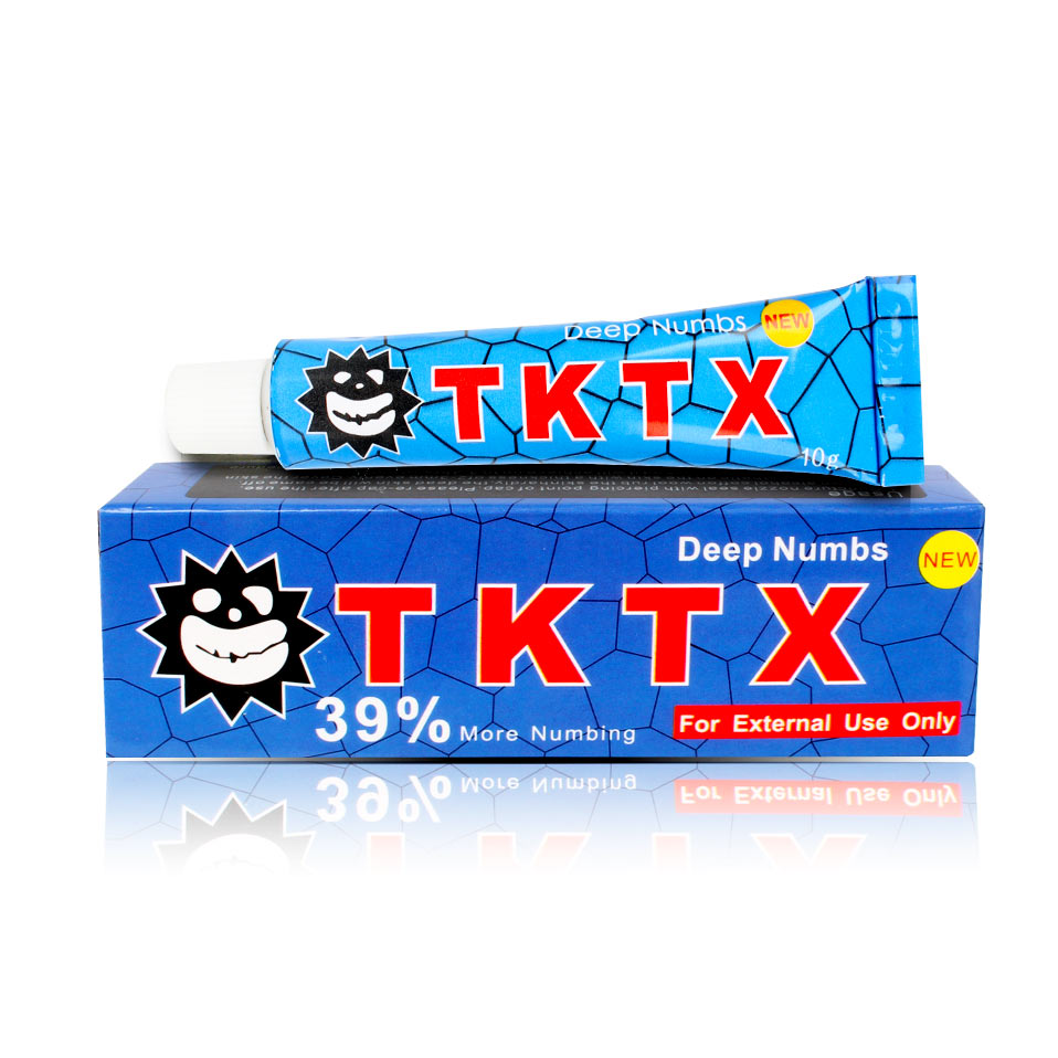 US Shipping TKTX Numbing Tattoo Body Anesthetic Fast Numb Cream Semi ...