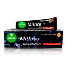 Mithra+ 10% Lidocaine Numbing Tattoo Body Anesthetic Fast Numb Purple Cream Semi Permanent Skin Body 10g