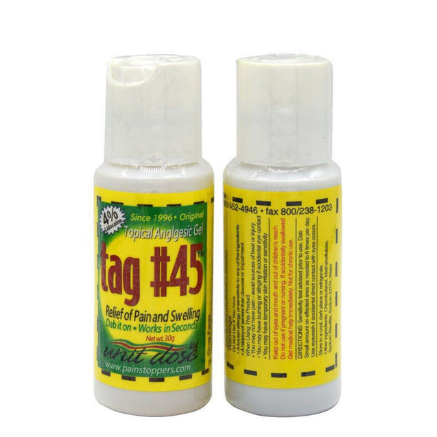Tag#45 Numbing During Tattooing Body Anesthetic Fast Numb Gel Semi Permanent Skin Body 30g
