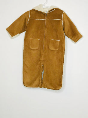 Gap Faux Sherling Snowsuit (gently loved) 3-6mo