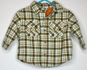 Gymboree Quilted Button Up Shirt