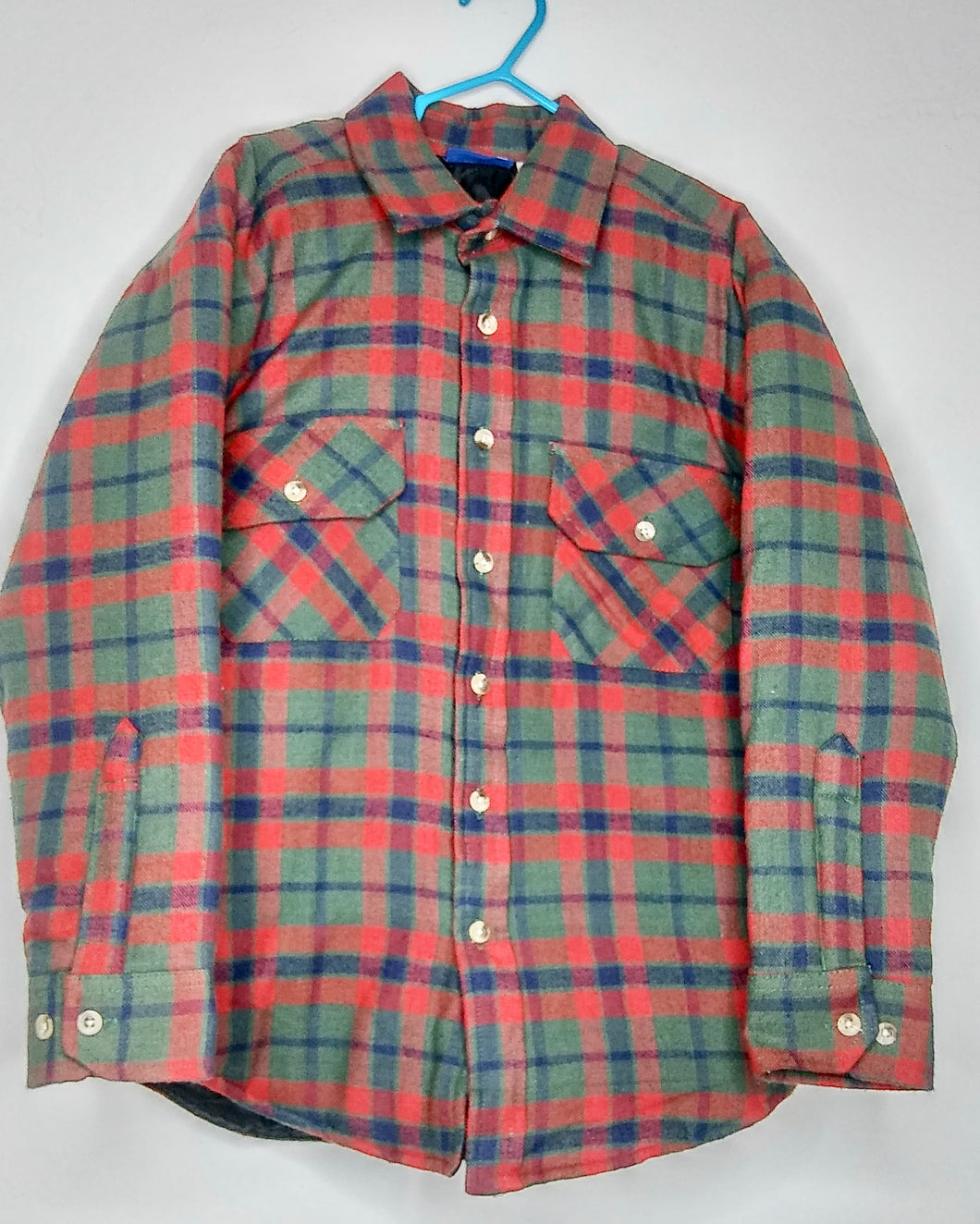 Fast Breakers Flannel Quilting Shirt