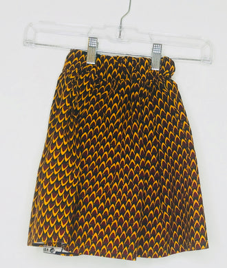 African Print Skirt (Gently Loved)