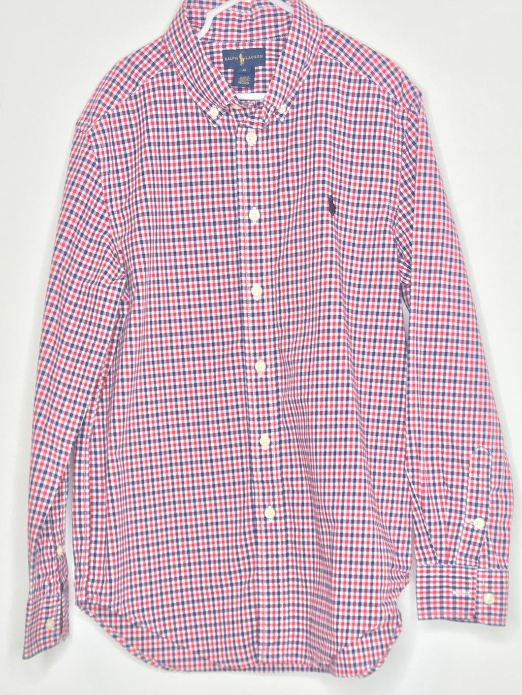 Ralph Lauren Check Shirt (gently loved) - 10/12