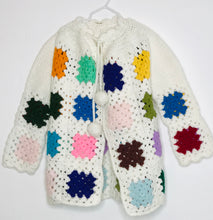 Load image into Gallery viewer, Paula Niner Vintage Patchwork Boho Sweater (gently loved) 8/10