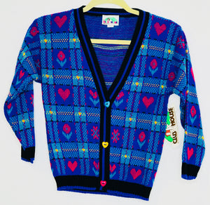 Club House Vintage Cardigan (New w/tags) 6x