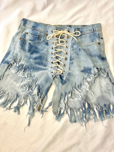STRING ME UP Fringe Levis ARE HERE