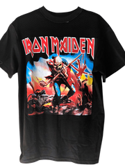 IRON MAIDEN Vintage Mesh T Shirt Dress