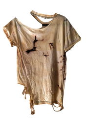 GUNS AND ROSES Distressed Bleached Vintage T Shirt