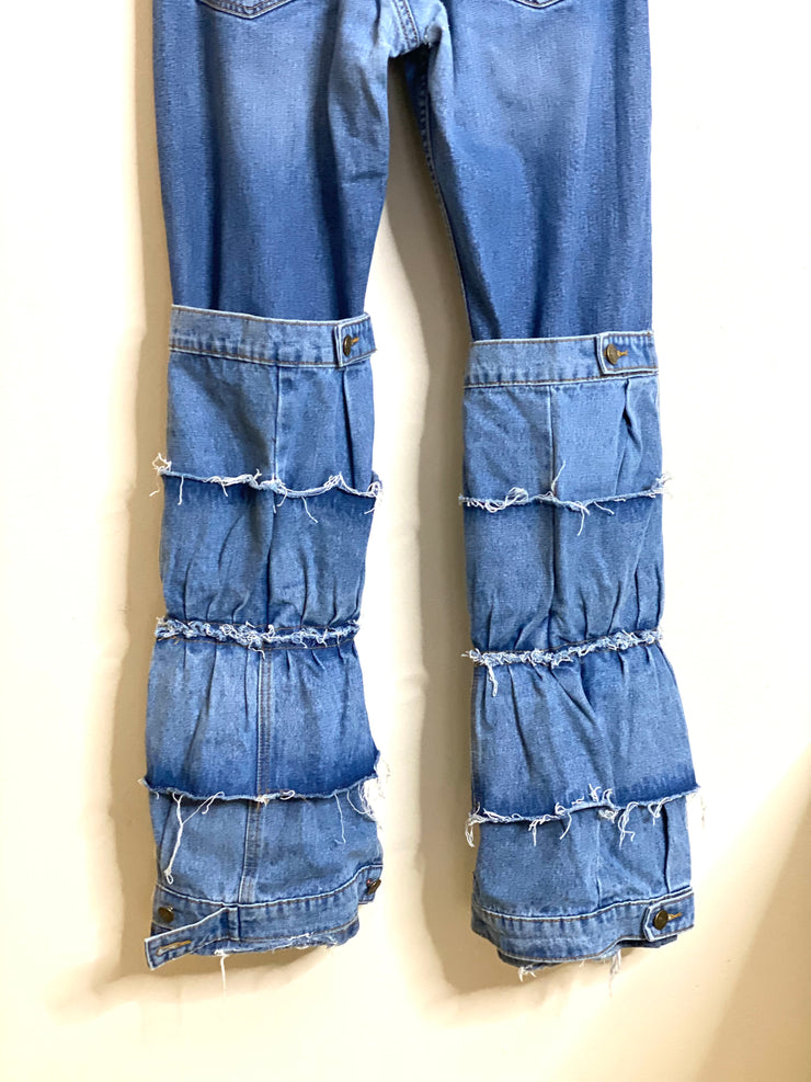 Levis Ruffle Up Jeans