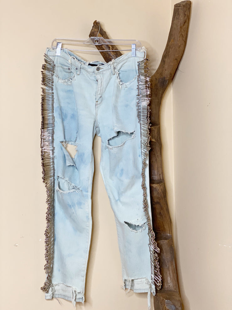 Levis Safety Pin Jeans
