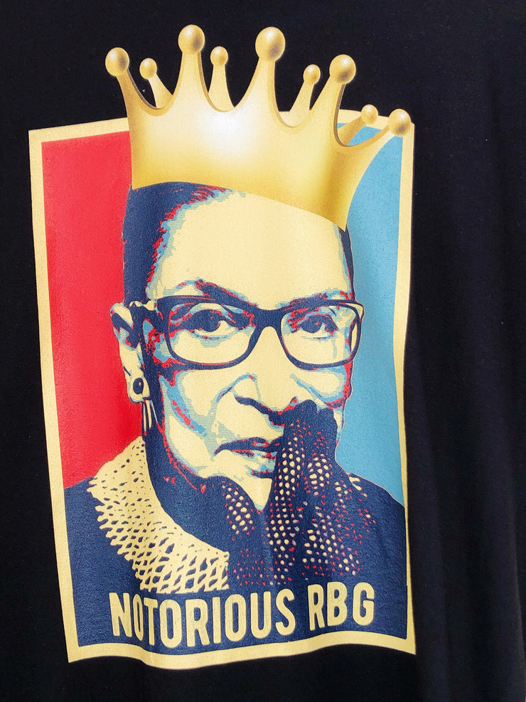 NOTORIOUS RBG Custom Graphic T Tee Shirt