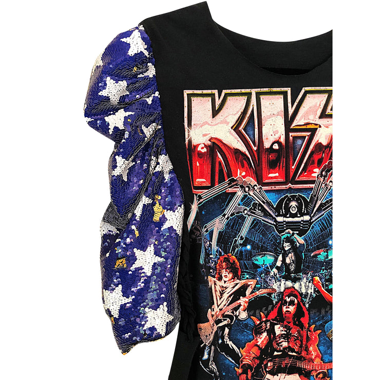"""Kris"" Kiss Vintage Custom Remix T Shirt"