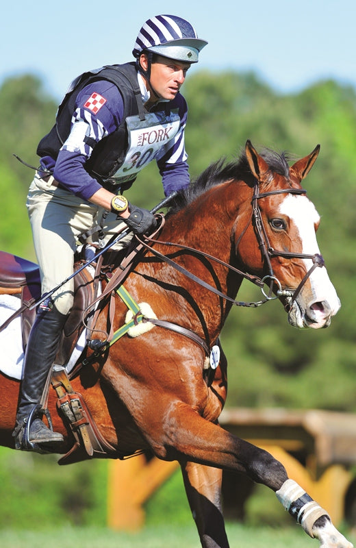 Boyd Martin and Otis, sponsored by Purina Feed. PC: Chronicle of the Horse